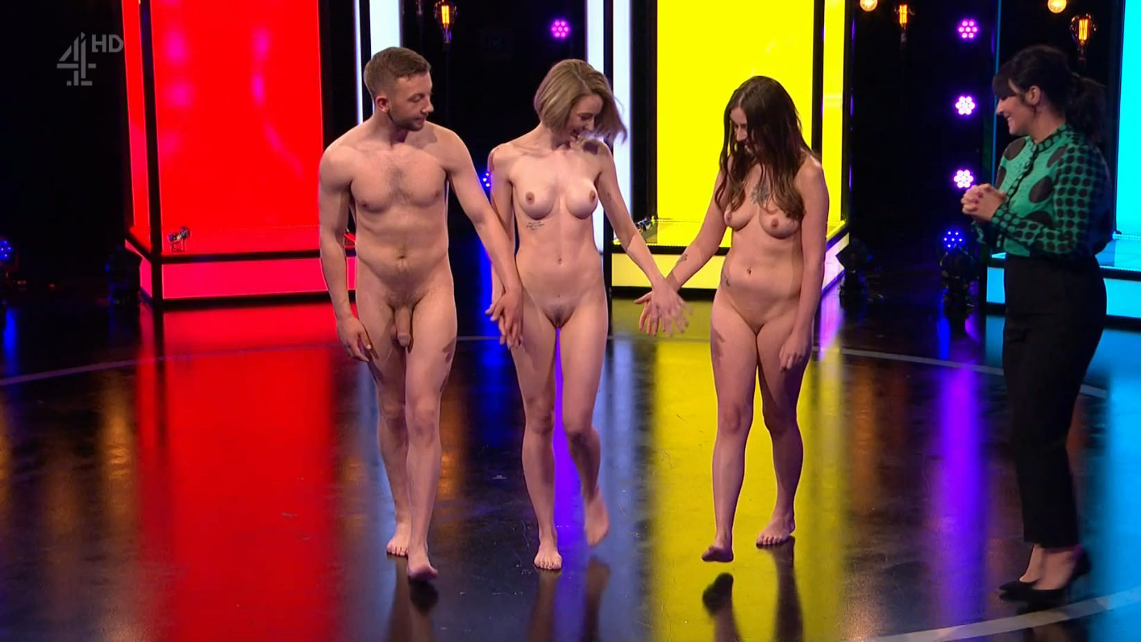 Naked babes on european reality television